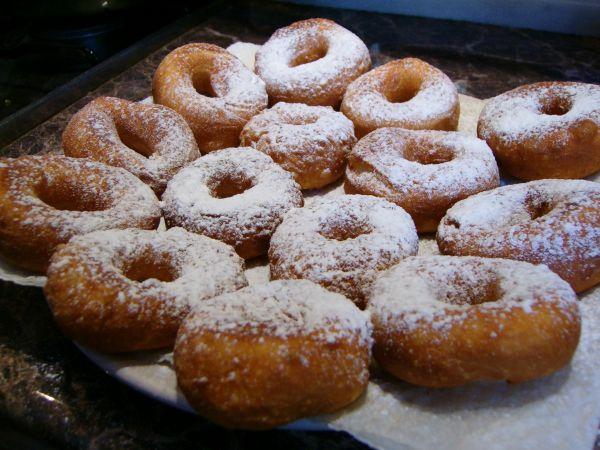 сахарные пончики рецепт фото